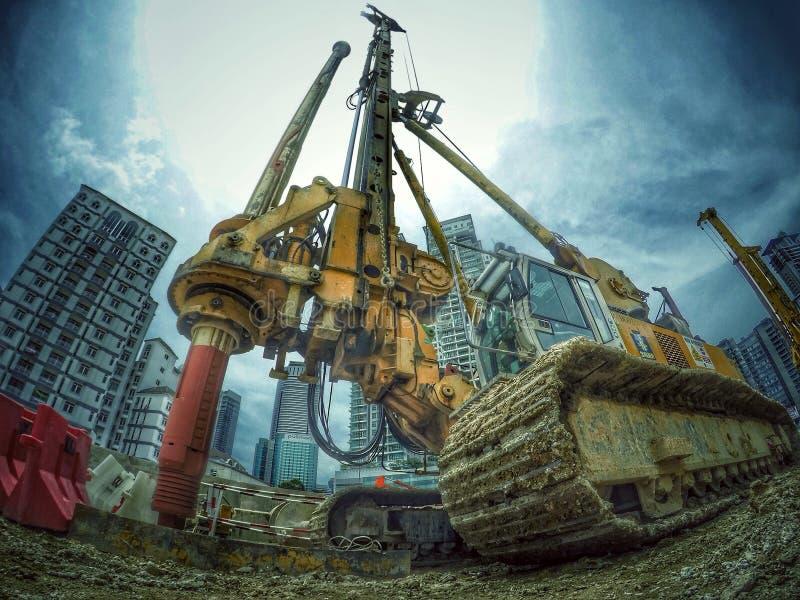 Photographie de construction de la Malaisie images stock