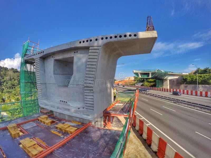 Photographie de construction de la Malaisie image libre de droits