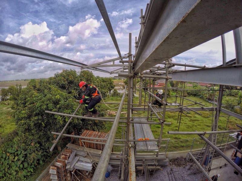Photographie de construction de la Malaisie photos stock