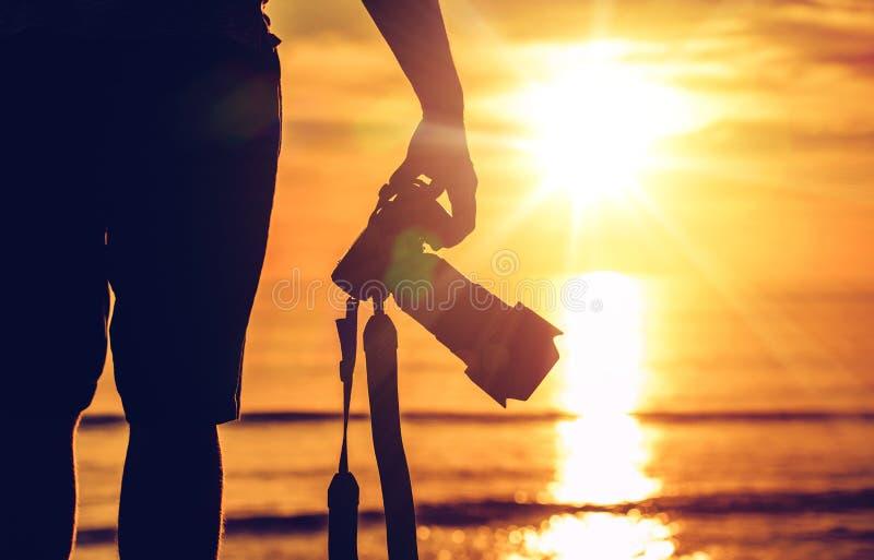 Photographie de coucher du soleil photo libre de droits