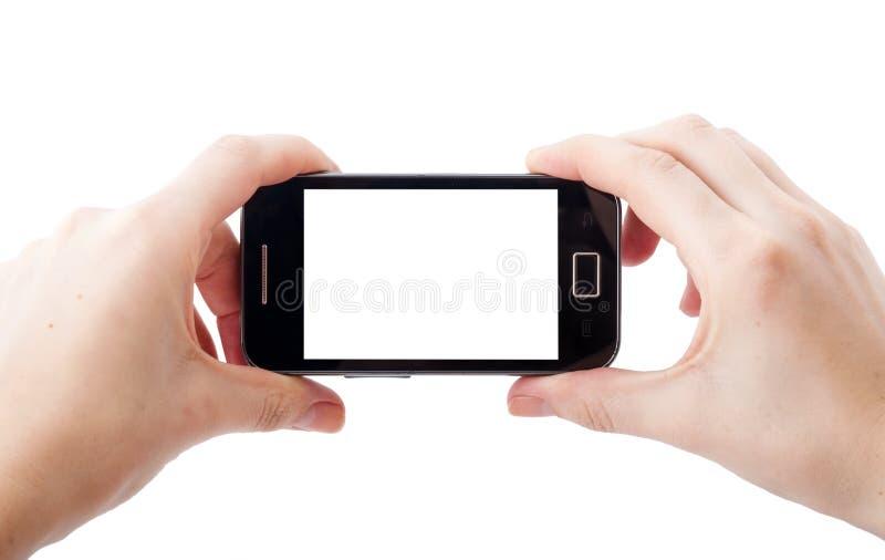 Photographie de téléphone portable images stock
