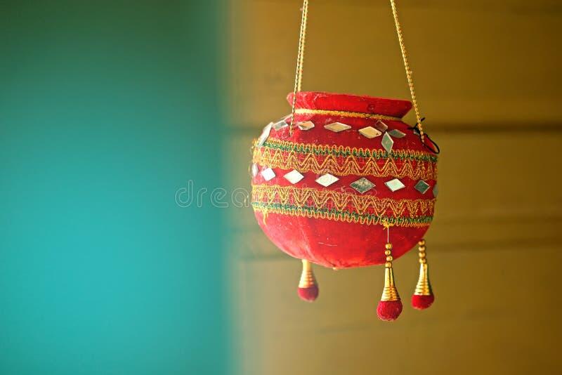 Photographie du dahi handi sur le festival de gokulashtami dans l'Inde, qui est jour de naissance du ` s de Lord Shri Krishna photographie stock