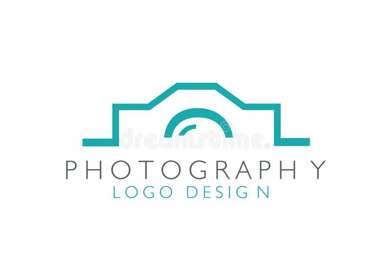 Photographie Logo Design Creative Vector illustration stock