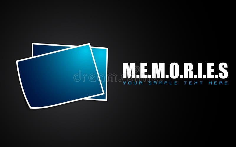 Photographie pour des mémoires illustration de vecteur