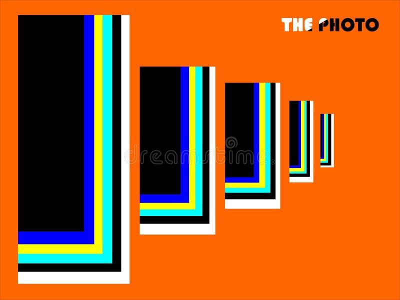 photographie Un monde lumineux de couleurs illustration stock
