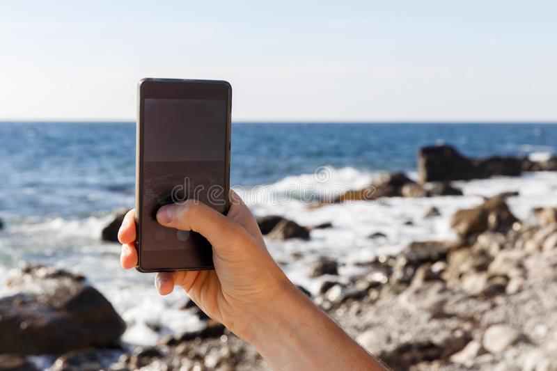 Photographies d'homme de jour de littoral images stock