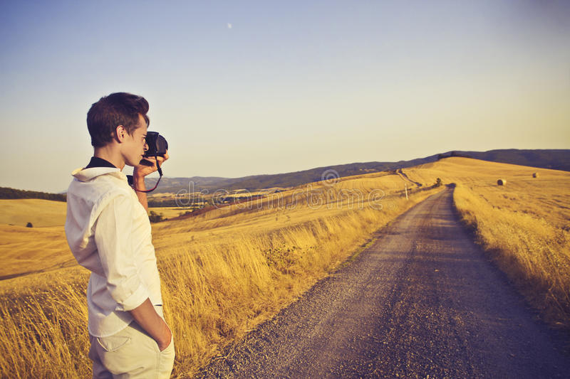 Download Photographing The Countryside Stock Photography - Image: 26194492
