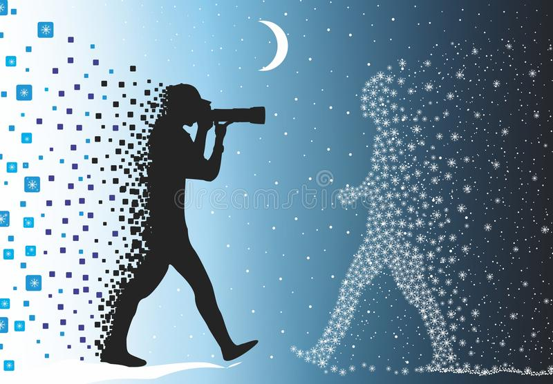 Photographer stock illustration