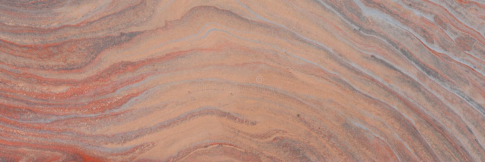 Photography of abstract marbleized effect background. brown, orange, gray and white creative colors. Beautiful paint royalty free stock photography