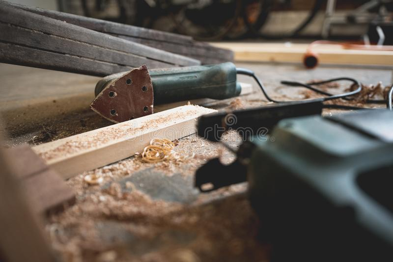 Photography of Black Power Tool royalty free stock photos