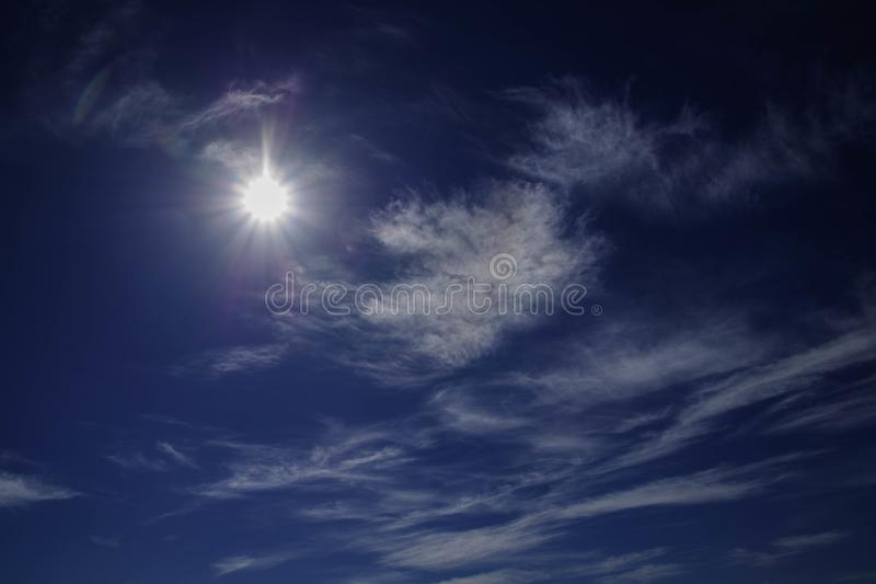 Photography of Blue Sky With Clouds stock photo