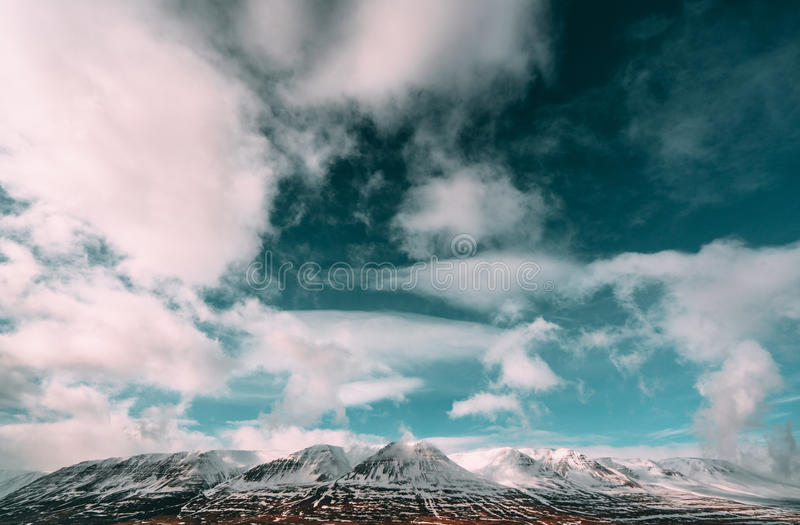 Photography Of Blue And White Cloudy Sky Covering Grey Rocky Mountain During Daytime Free Public Domain Cc0 Image