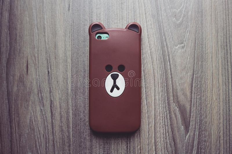 Photography of Brown Bear Iphone Case royalty free stock images