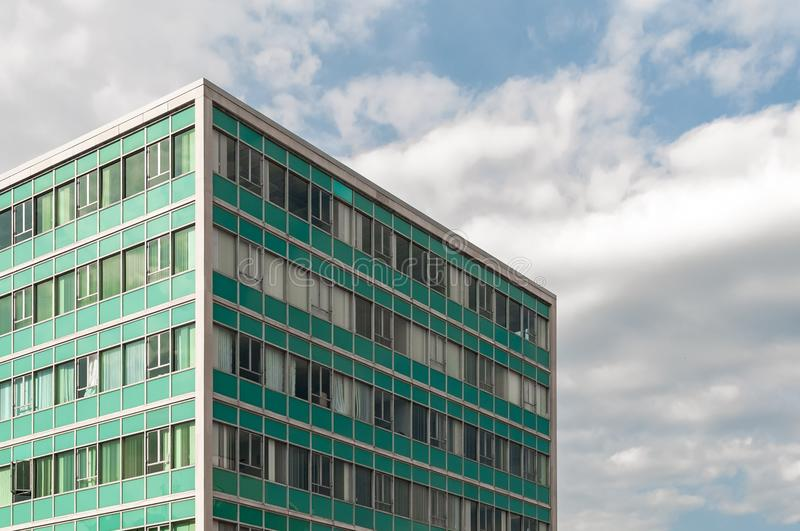 Photography of Building Under Cloudy Sky stock photo