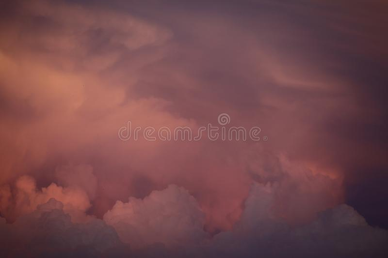 Photography of Dark Clouds stock photography