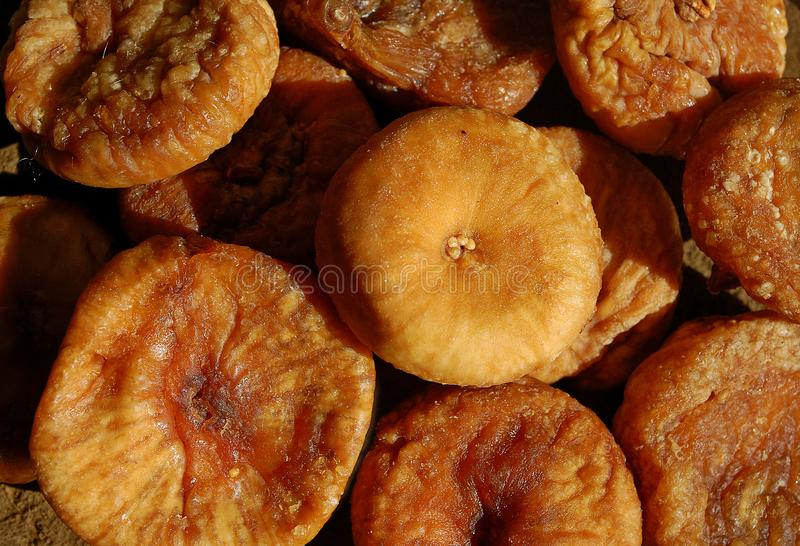 Photography of dried common figs royalty free stock photos