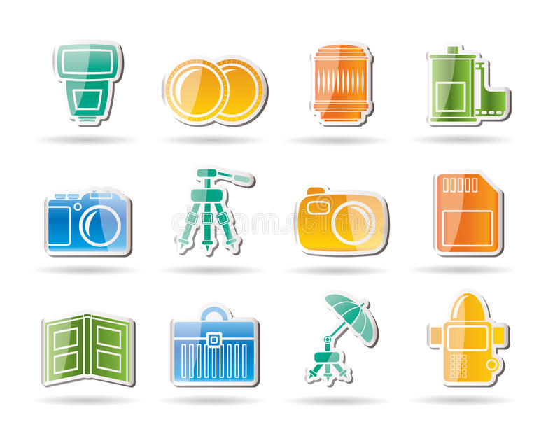 Download Photography Equipment Icons Stock Vector - Image: 17915853