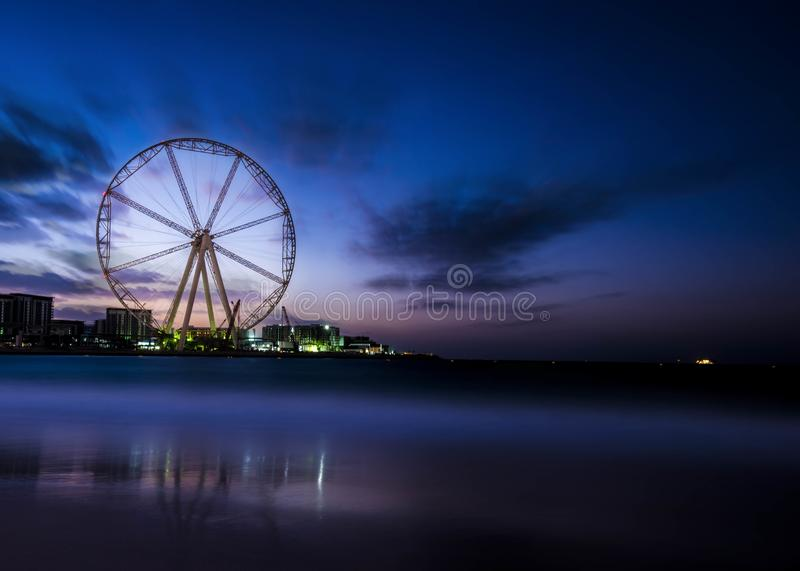 Photography Of Ferris Wheel Near Body Of Water royalty free stock photo