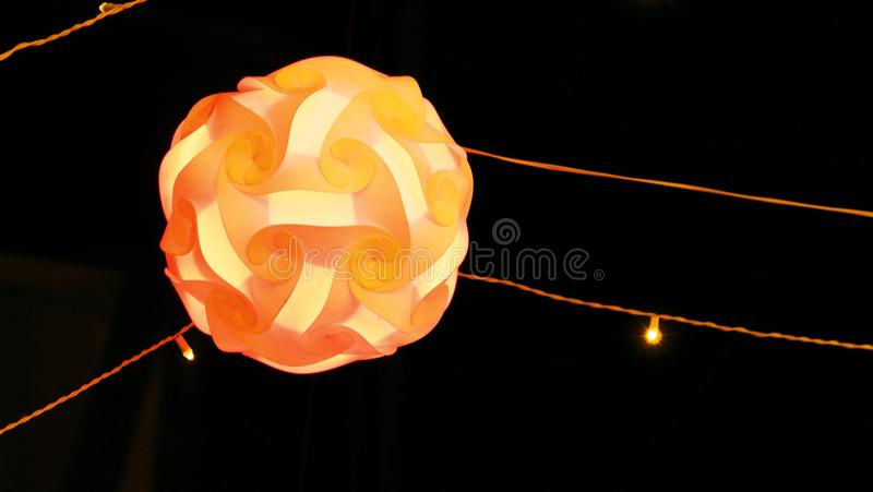 Photography of lighting in a festival for background usage. Photography of abstract lighting in a festival for background usage royalty free stock photography