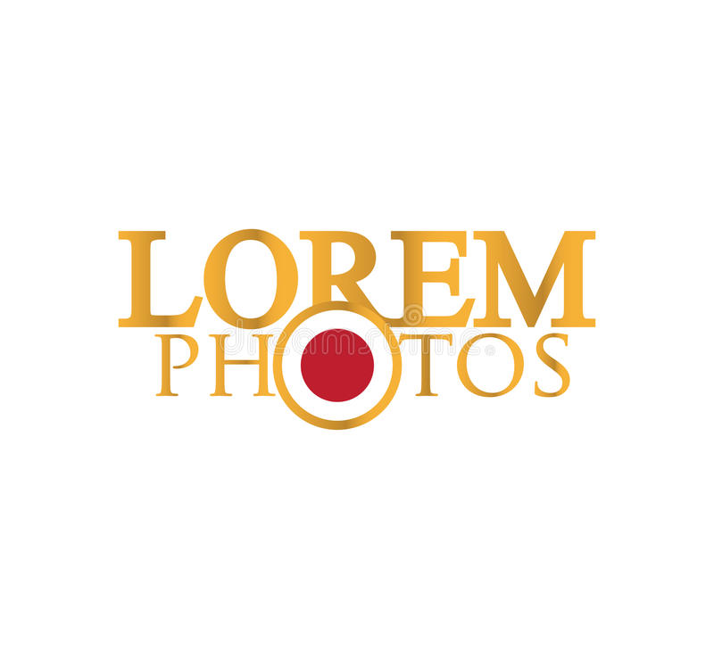 Download Photography Logo Design stock vector. Image of objective - 83704699