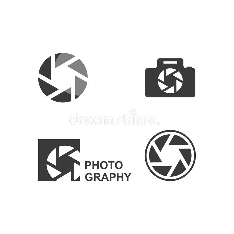 Photography logo. Design vector template, camera, icon, photographer, symbol, digital, focus, element, technology, concept, illustration, lens, business, film vector illustration