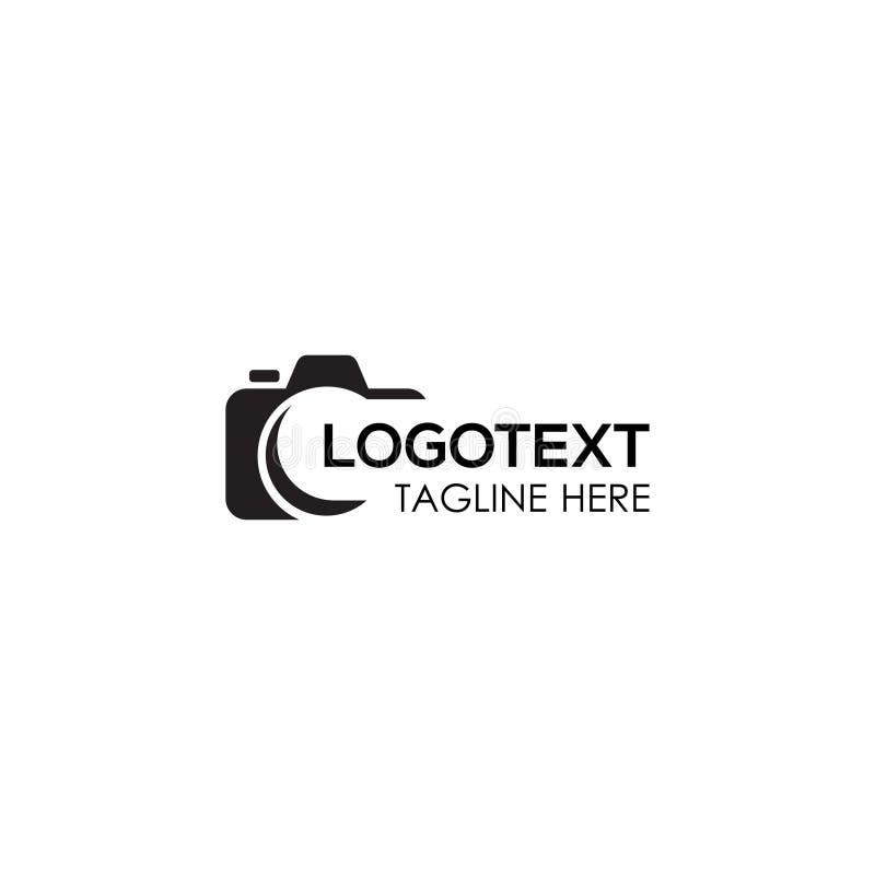 Photography logo for Photographer, Camera logo design. Photography logo. Photographer Logo. Camera logo. Camera illustration. Camera icon stock illustration