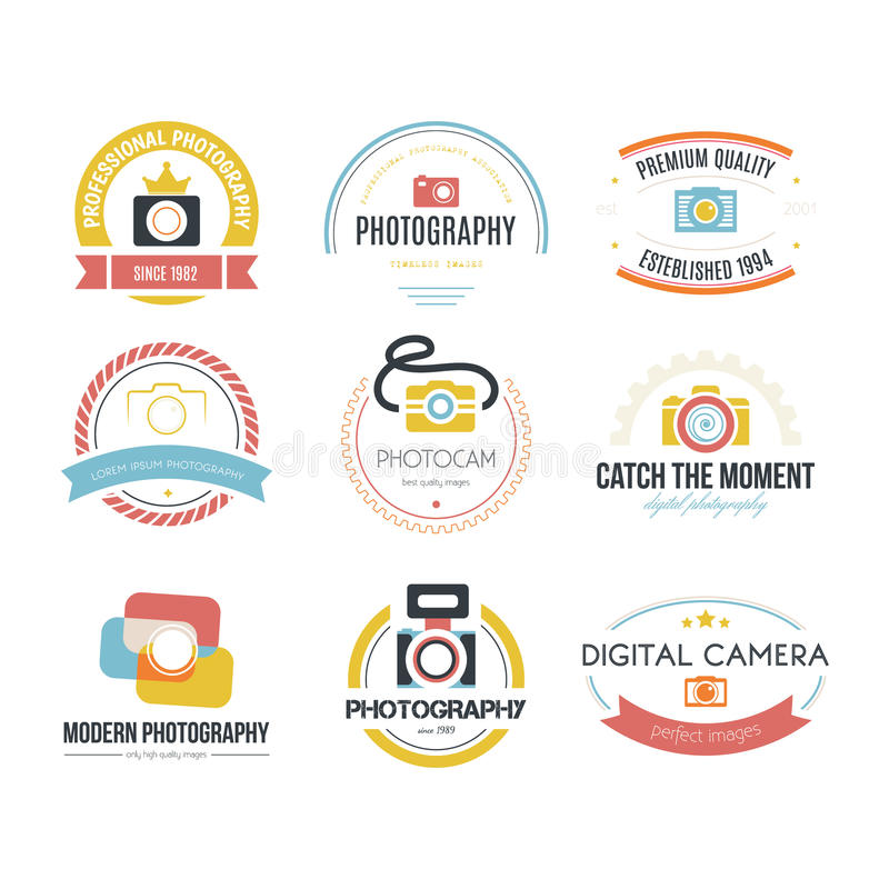 Free Photography Logos Stock Photography - 47499682