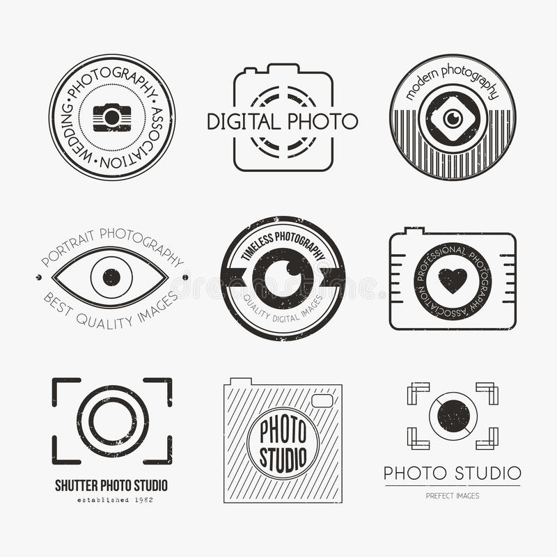 Free Photography Logos Stock Image - 49769311