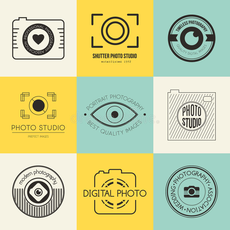 Free Photography Logos Royalty Free Stock Images - 49769479