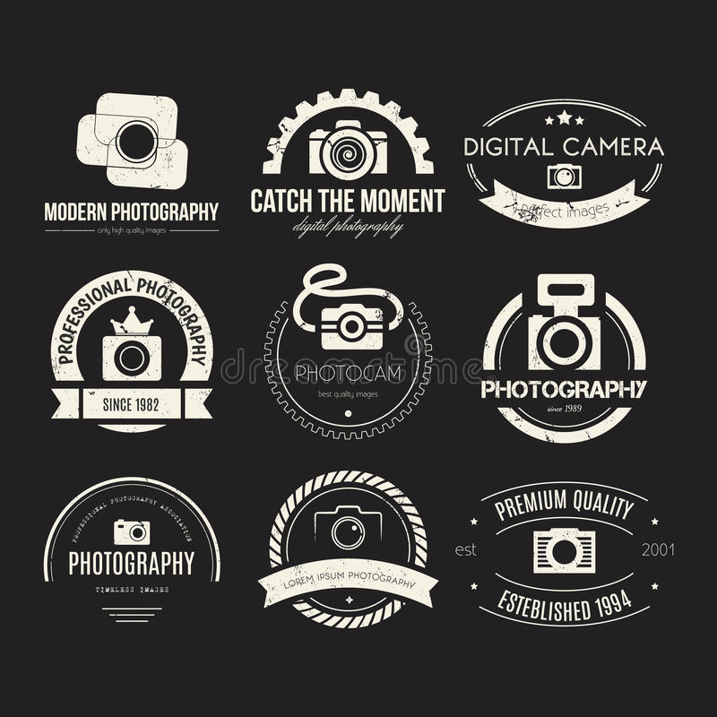 Free Photography Logos Stock Image - 50878331