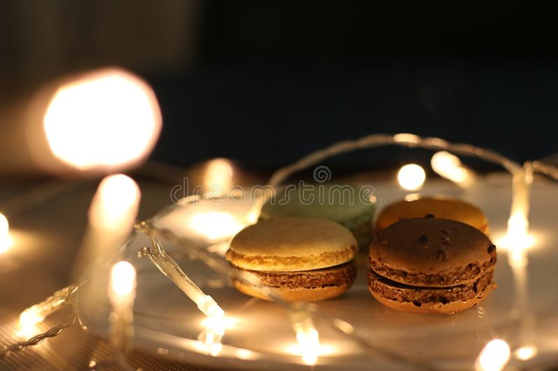 Photography of Macaroons royalty free stock image