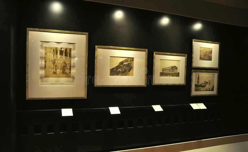 Photography museum royalty free stock photos