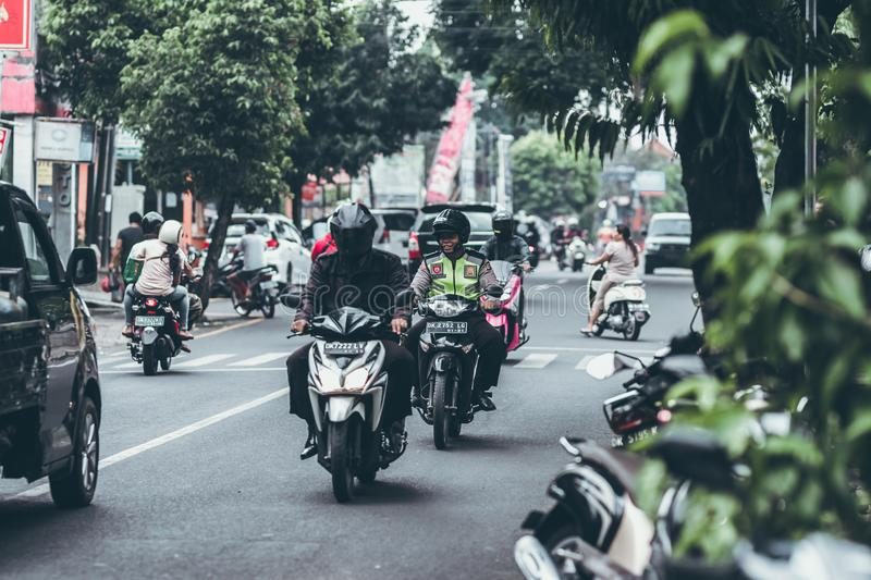 Photography of People Riding Motorcycles royalty free stock photography