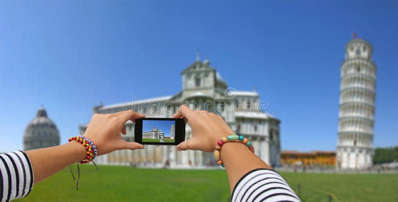 Photography Pisa royalty free stock photo