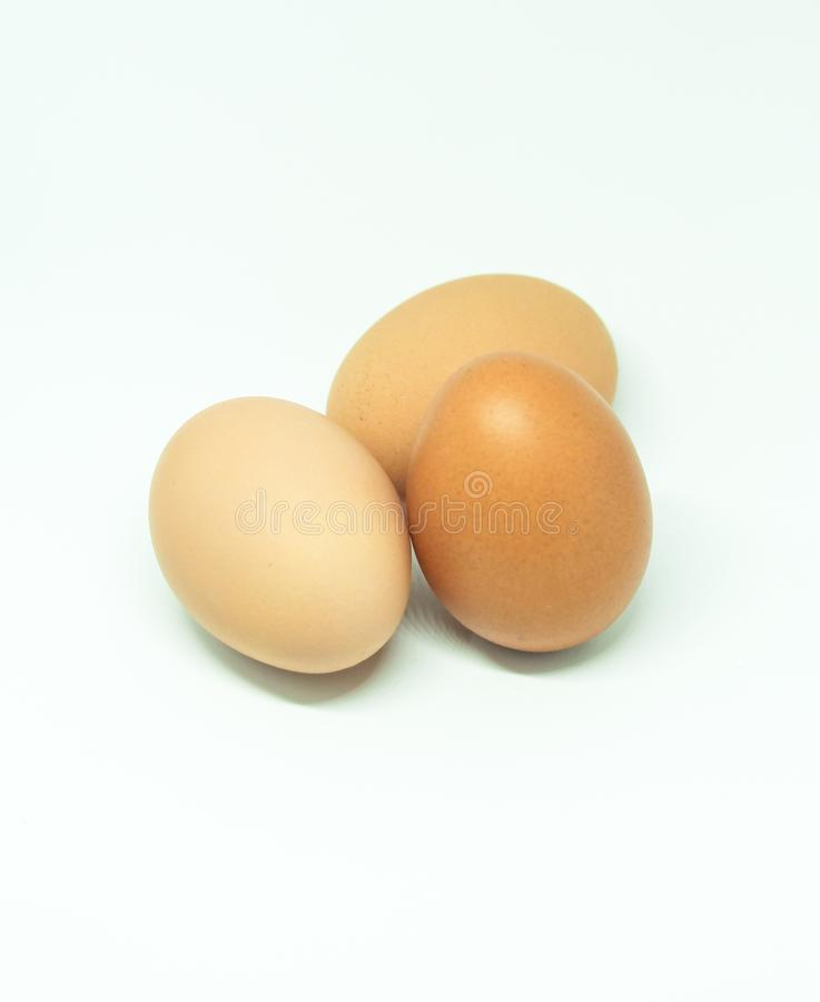 Red eggs. Photography of red eggs on white background royalty free stock photos