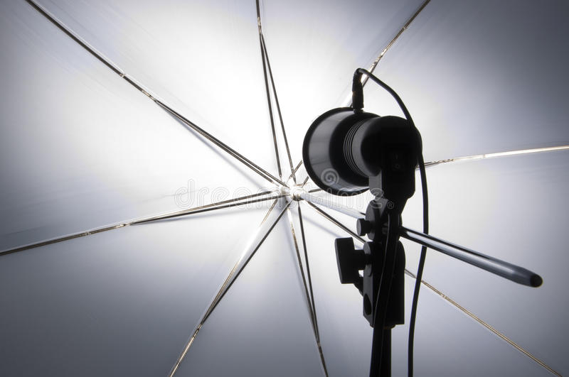 Download Photography Set Up With Umbrella Stock Photo - Image: 20310628
