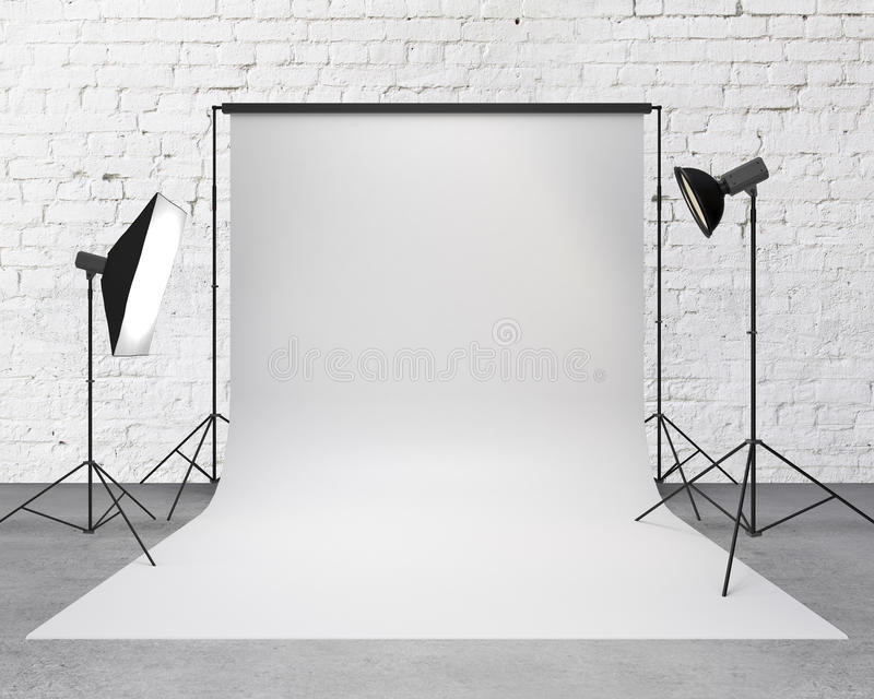 Photography studio royalty free stock photography