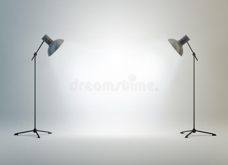 Download Photography Studio With A Light Stock Photo - Image: 24963584