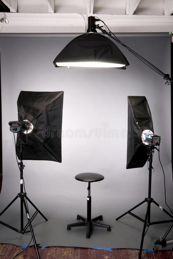 Download photography studio lighting background setup grey stock photo image of image equipment