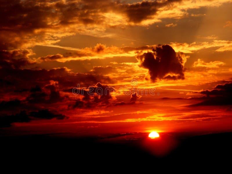 Photography of Sunset stock image