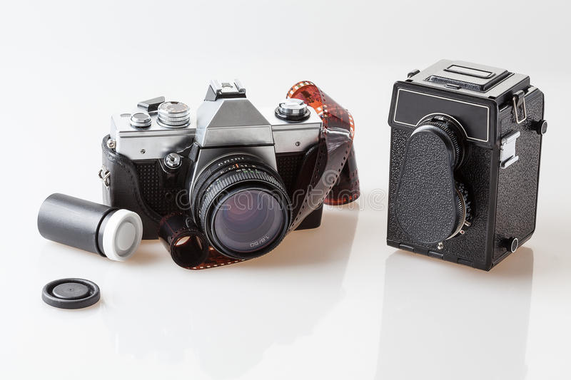 Download Photography Tools, Old Cameras Stock Photography - Image: 33591842