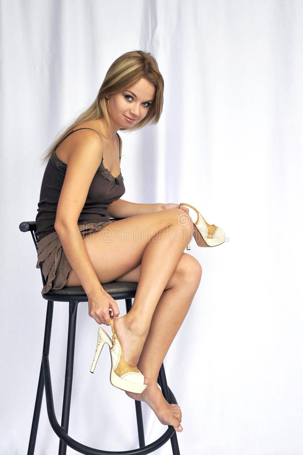 Photomodel imagen de archivo