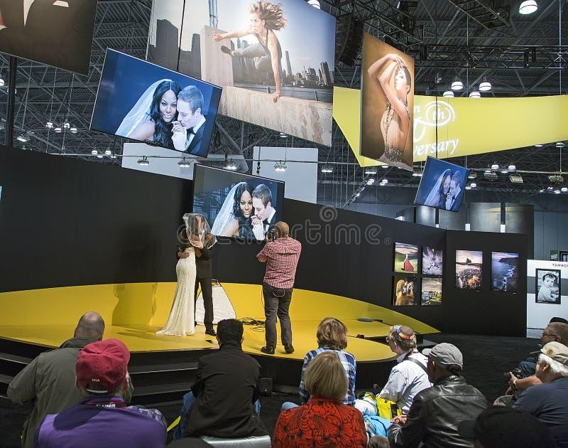 2017 PhotoPlus Expo royalty-vrije stock afbeelding