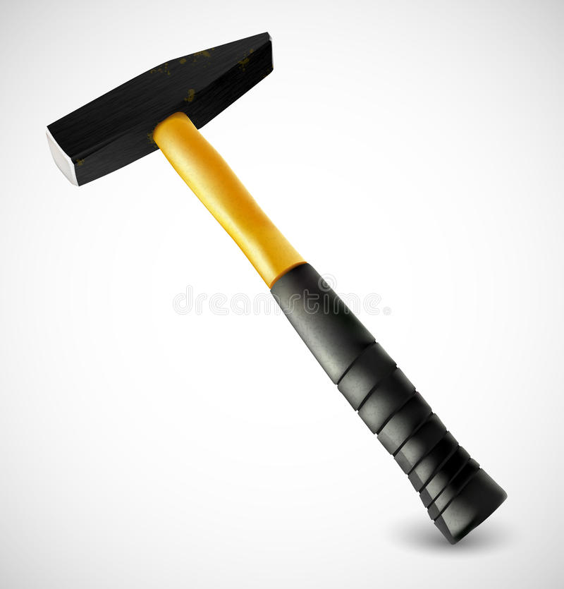 Download Photorealistic hammer stock vector. Image of carpentry - 24489795