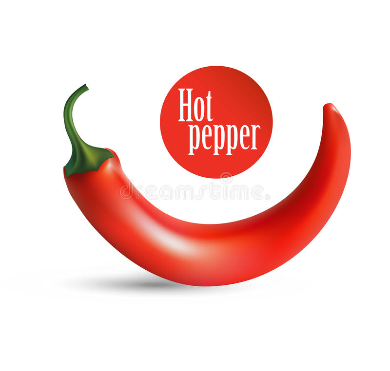 Free Photorealistic Illustration Of A Chilli In Stock Photos - 45392603