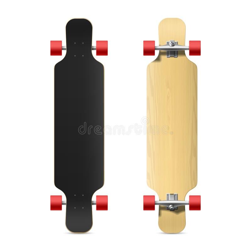 Free Photorealistic Longboard, Skateboard Stock Photos - 43304063