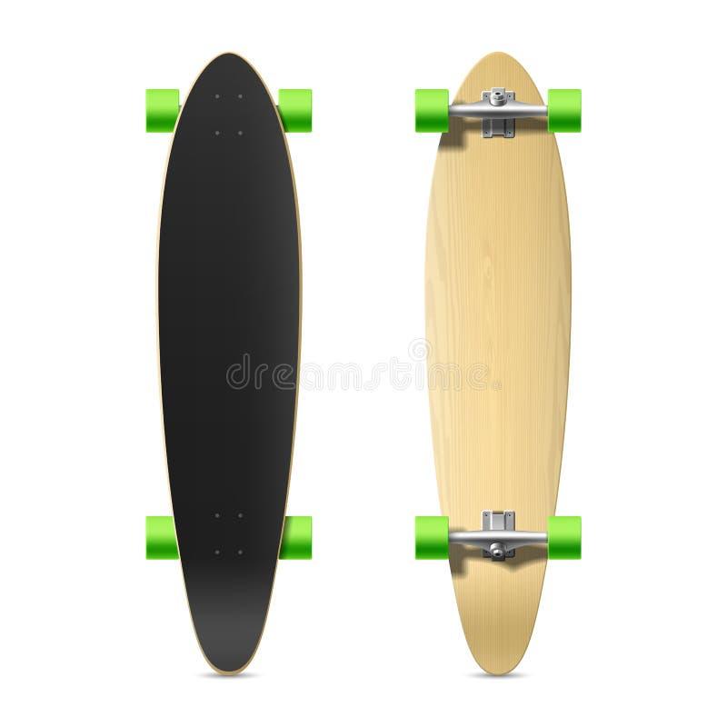 Free Photorealistic Longboard, Skateboard Stock Photos - 43304493
