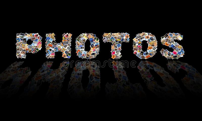 Photos Collage Royalty Free Stock Image