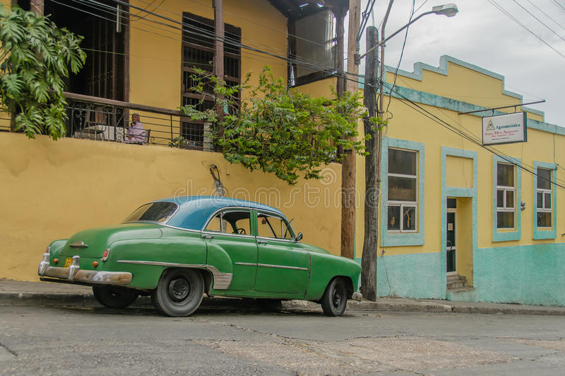 Photos du Cuba - le Santiago de Cuba photos libres de droits