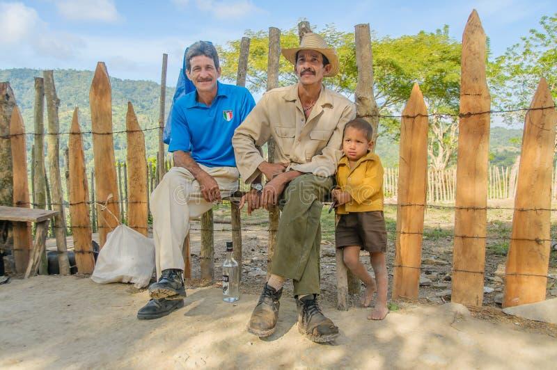 Photos du Cuba - personnes cubaines image libre de droits